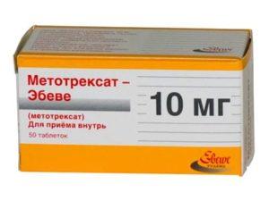 Из всех болезнь-модифицирующих препаратов «Метотрексат» лучше переноситься при длительном лечении при ревматоидном артрите