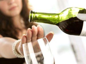 Откажитесь от алкоголя при подагре