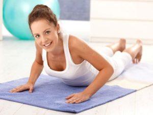 Базовые упражнения при грудном остеохондрозе