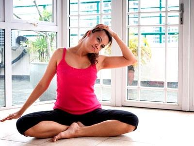 йога при грыже шейного отдела позвоночника