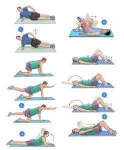 Комплекс упражнение при грыжи в поясничном отделе