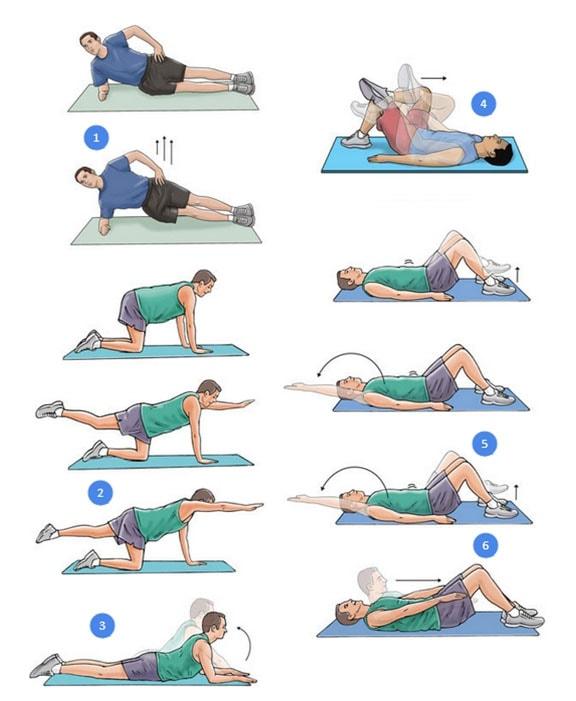 Лечебные упражнения при поясничной грыже позвоночника