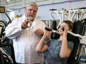 Советы Дикуля по особенностям тренировок при грыже