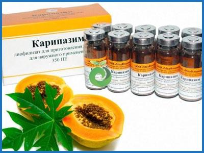 Совет по лечению грыжи Карипазимом