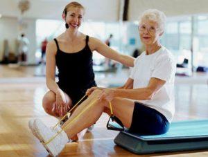 Лечебная физкультура при остеоартрозе коленного сустава