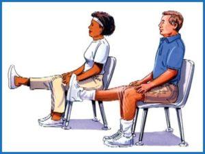 Упражнения при остеоартрозе в коленном суставе