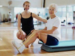 ЛФК при остеопорозе