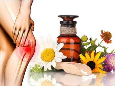 Лечение народными средствами колено