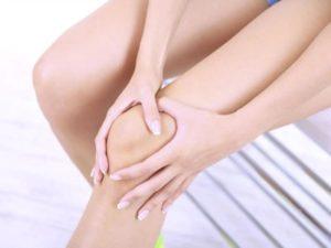 Остеопороз колена у девушки