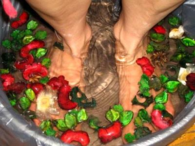 Народных средства при подагре ног
