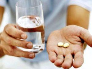 Прием препаратов при подагре