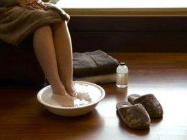 Ванночки для ног при подагре